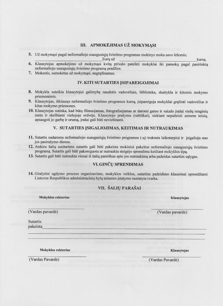 sutartis 2